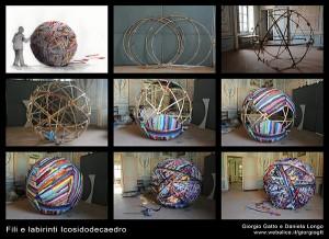 Gatto_Fili e labirinti - Icosidodecaedro