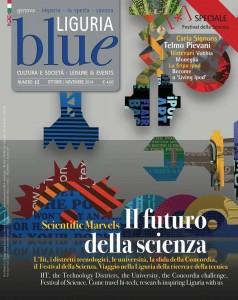 COPERTINA BLUE LIGURIA n.42 cover ricerca scientifica