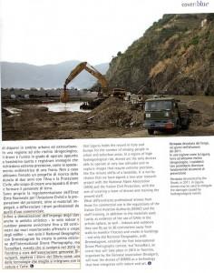 Da BLUE LIGURIA n.42 pag.31 intervista sui DRONI